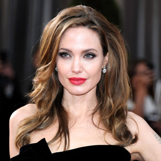 Angelina Jolie Red Carpet Style Oscars 2012